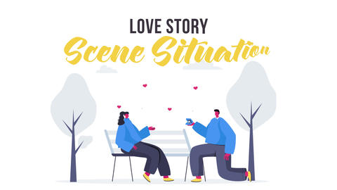 Love story - Scene Situation After Effects Template