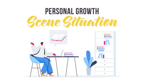 Personal growth - Scene Situation After Effects Template