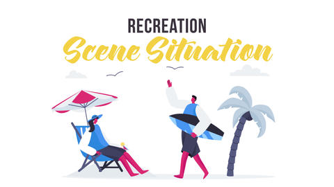 Recreation - Scene Situation After Effects Template