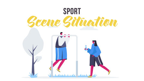 Sport - Scene Situation After Effects Template