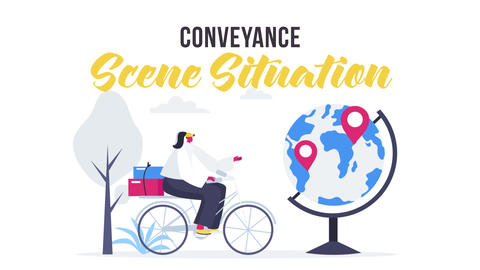 Conveyance - Scene Situation After Effects Template
