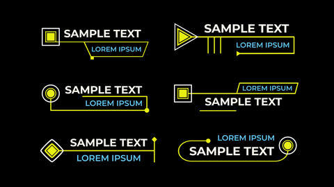 Titles Animation Motion Motion Graphics Template