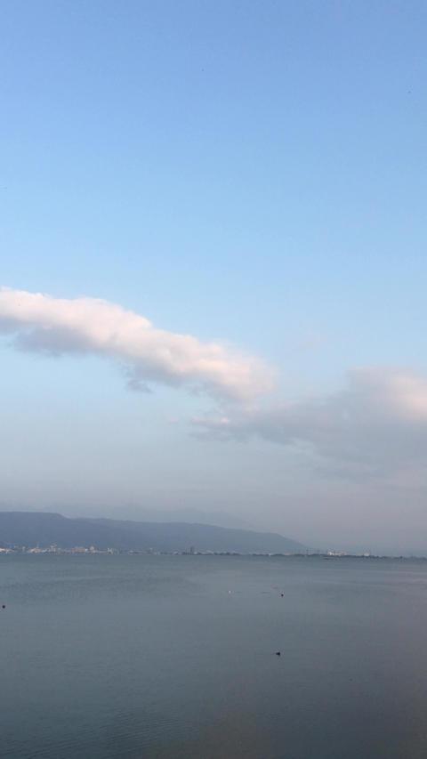 諏訪湖 Footage