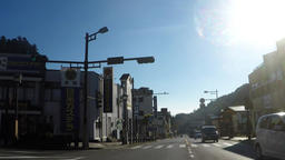 World heritage, road near Nikko Toshogu Footage
