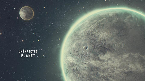 Unexpected Planet After Effects Template