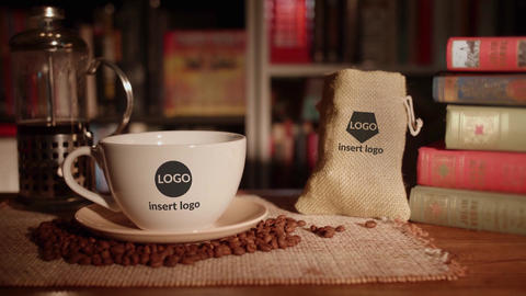 Coffee And Books Opener After Effects Template