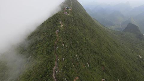 DJI MAVIC2 AIR 4K Mount moliugong Karst scenery 20200905 11 Live Action