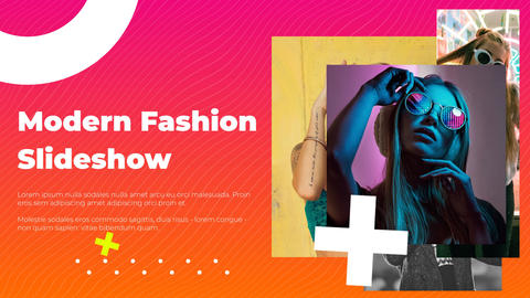 Modern Fashion Slideshow After Effects Template