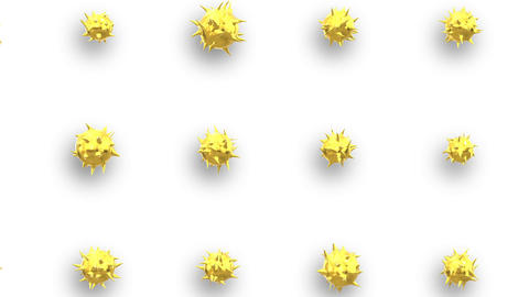 gold Polygon motion loop background animation Animation