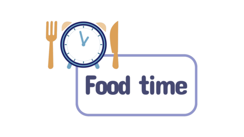 Food time cartoon animation Animation