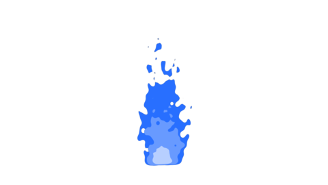 Fire-blue Animation