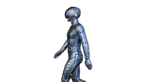 CyborgWalk Animation
