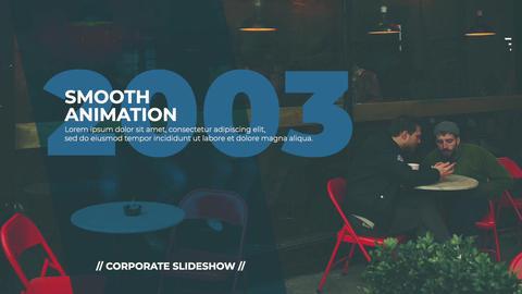 Simple Corporate Slideshow Plantilla de Apple Motion