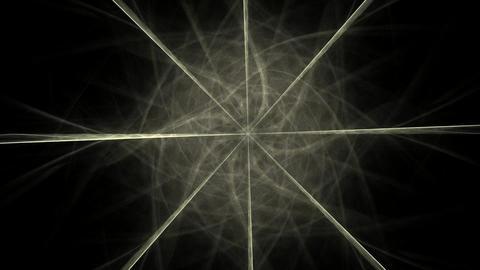 Lacy colorful clockwork pattern. Digital fractal art design. Abstract design of sacred symbols signs Animation