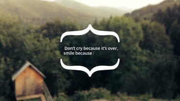 Quotes Titles After Effects Template