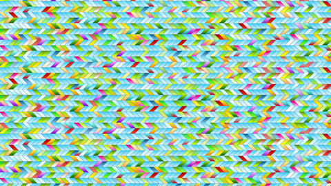 Colorful geometric mosaic abstract animated background Animation