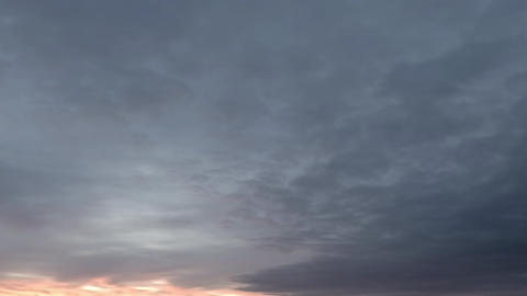 Dawn time lapse sky – 02 Live Action