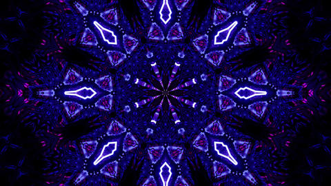 Magical Multicolored Hallucination Effect Mosaic 4k uhd 3d rendering vj loop Animation
