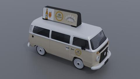 KOMBI 3 3D Model