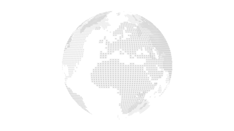 Dots Earth-white Videos animados