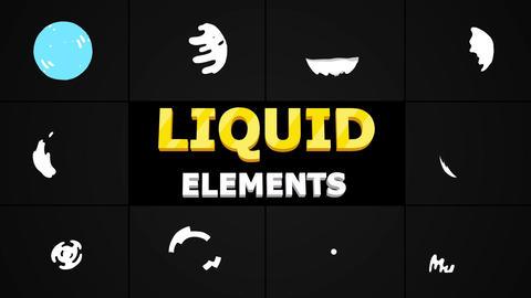 Liquid Circles Motion Graphics Template