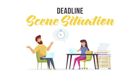Deadline - Scene Situation After Effects Template