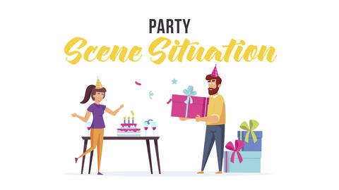 Party - Scene Situation After Effects Template