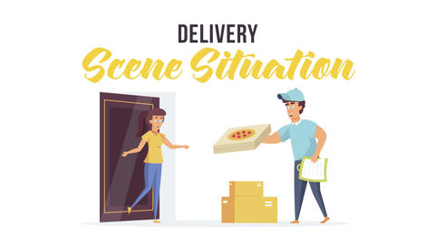Delivery - Scene Situation After Effects Template
