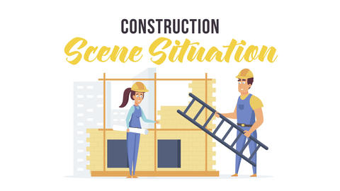 Construction - Scene Situation After Effects Template