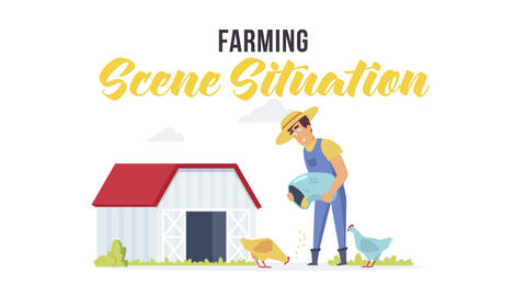 Farming - Scene Situation After Effects Template