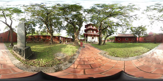 360VR video of Confucius Temple, Scholarly Temple Footage