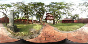 360VR video of Confucius Temple, Scholarly Temple, Live Action