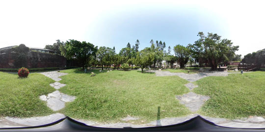 360VR video on Anping Old Fort, Fort Zeelandia Footage