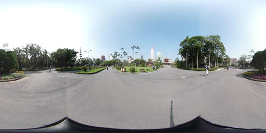 360VR video in Peace park Taipei ภาพวิดีโอ