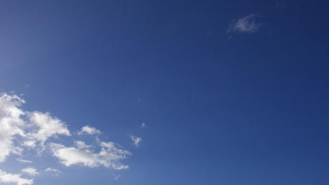 Sunny day light clouds time lapse Footage