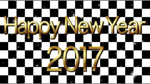 happy new year 2017 ハッピーニューイヤー ループ CG動画