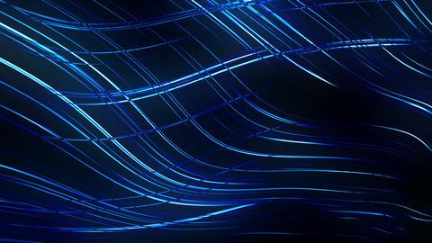 Glowing Lines Design Loop Animation