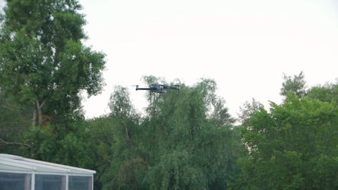 The Drone Maneuvers Live Action