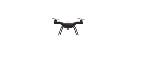 Drone Flying Animation