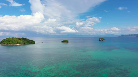Caramoan Islands, Philippines. Summer and travel vacation concept Live Action