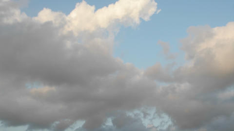 Clouds Move Overhead In This Time Lapse Shot stock footage