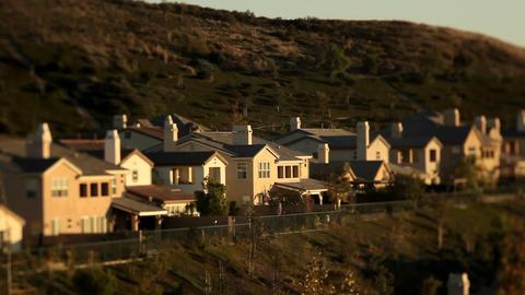 Shots of upscale urban neighborhood Footage