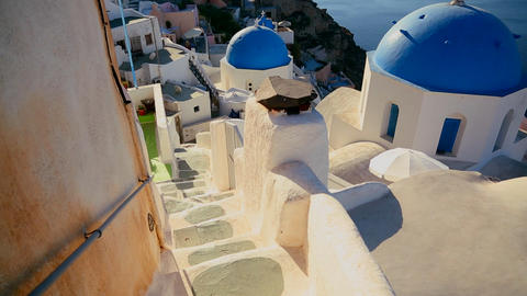 Gorgeous churches ,walkways and buildings grace th Stock Video Footage