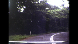 Travelling Along the Rex Highway in Queensland (1983 8mm... Stock Video Footage