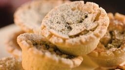 Mini Christmas Pies Sugar Dusted Footage