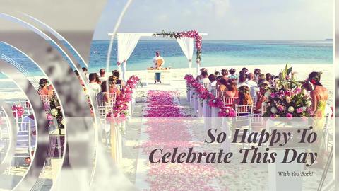 Wedding Slideshow Love Story-Lovely Video for Lovers for Weddings Apple Motion Template
