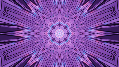 Symmetrical Vivid Shifting Illusion 4k uhd 3d rendering vj loop Animation