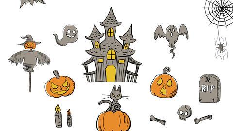 Halloween animation 13 애니메이션
