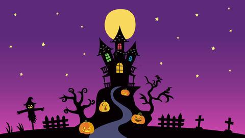Halloween background animation Animation