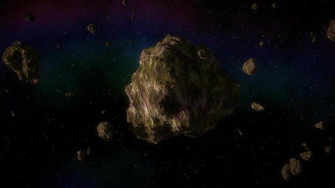 Asteroid In Space 0